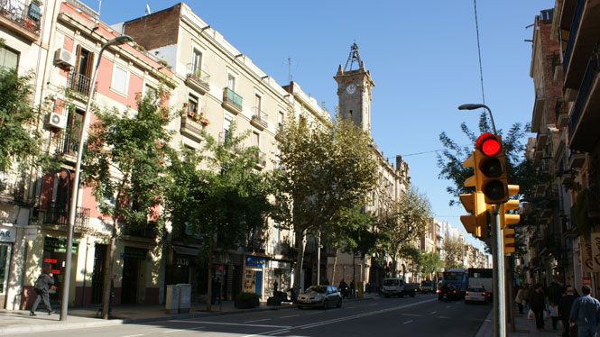 The old part of the neighbourhood Sants and Hostafrancs